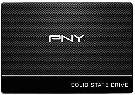 "PNY CS900 120GB 3-d NAND 2.5"" SATA III Internal Solid State Drive (SSD) - (SSD7CS900-120-RB)"