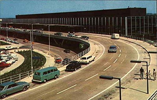 O'Hare Terminal Building Chicago, Illinois Original Vintage - Terminal Ohare