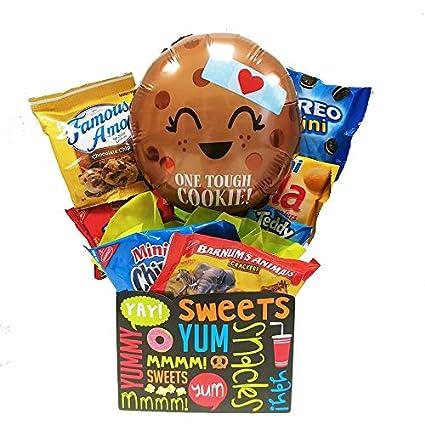 Una caja de regalo de galletas resistente: Adorable Get Well ...