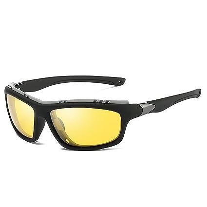 LBY Gafas De Sol Polarizadas Sport Gafas De Sol Windproof Gafas de Sol para Hombre (