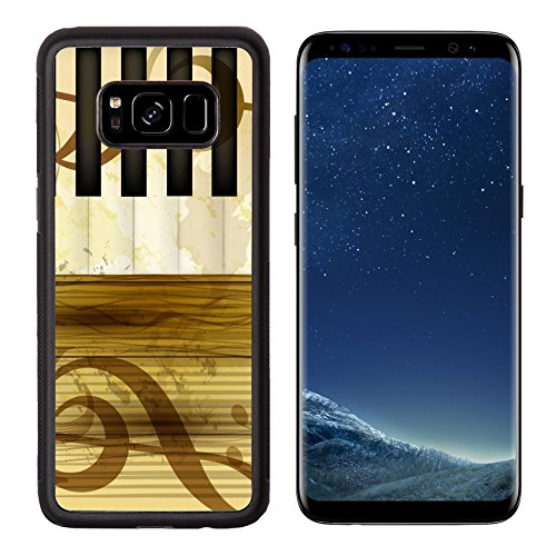 Free Scroll Background (Liili Premium Samsung Galaxy S8 Aluminum Backplate Bumper Snap Case IMAGE ID: 16548328 music background)