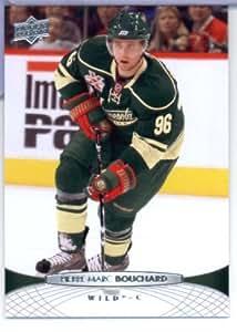 2011 /12 Upper Deck Hockey Card # 109 Pierre-Marc Bouchard Minnesota Wild