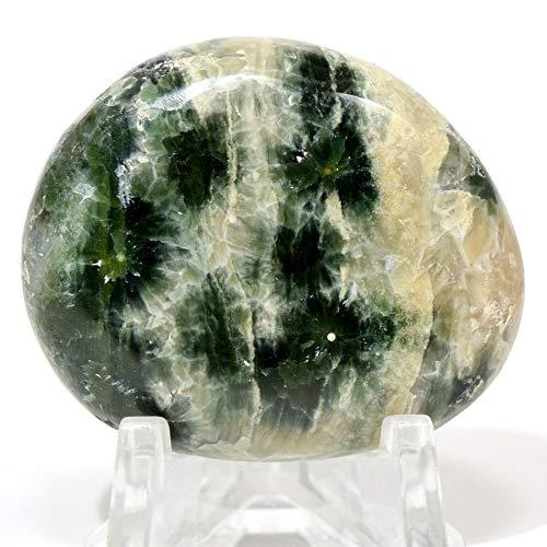 - 95 Carat Ocean Jasper Medallion Multicolor Natural Druzy Mineral Pendant Sparkling Crystal Slab Polished Orbicular Orbs Stone Cabochon - Madagascar