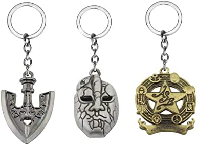 Amazon Com Hlzg 3 Pieces Jojo Bizarre Adventure Keychain Anime Cosplay Costume Key Ring Clothing Using it gives the player a 55% chance to get any stand and a 45% chance to die. hlzg 3 pieces jojo bizarre adventure keychain anime cosplay costume key ring