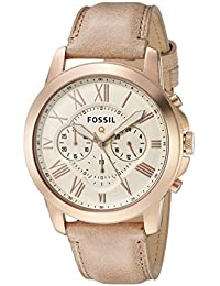Fossil Q Grant Gen 1 Hybrid Sand Leather Smartwatch