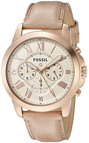Fossil Q Grant Gen 1 Hybrid Sand Leather Smartwatch by Fossil