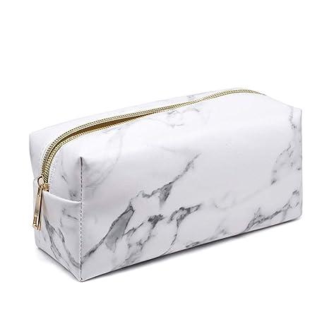 Amazon.com : MoGist Travel Makeup Brush Bag Cosmetic Bag Set ...