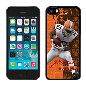 NFL&Cleveland Browns-Jordan Norwood iPhone 5C Case Gift Holiday Christmas Gifts cell phone cases clear phone cases protectivefashion cell phone cases HLNKY605583109
