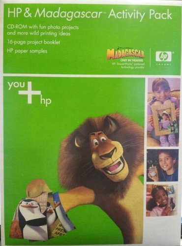 HP & Madagascar Activity Pack