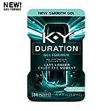 K-Y - Duration Gel for Men, Male Genital Desensitizer 0.16 oz (36 pumps), Condom Compatible Endurance Enhancing Delay Gel To Help Men Last Longer In Bed