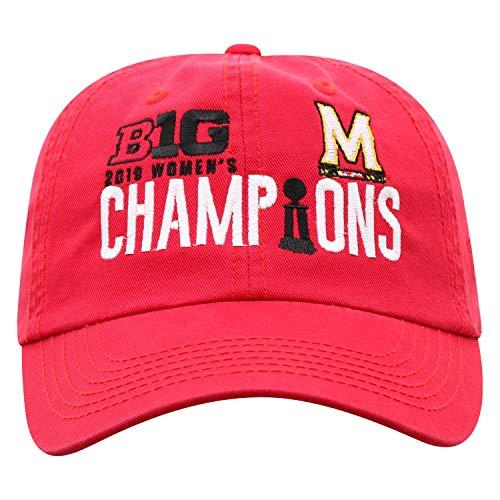 Top of the World Maryland Terrapins 2019 Big 10 Women's Basketball Champions Locker Room Hat