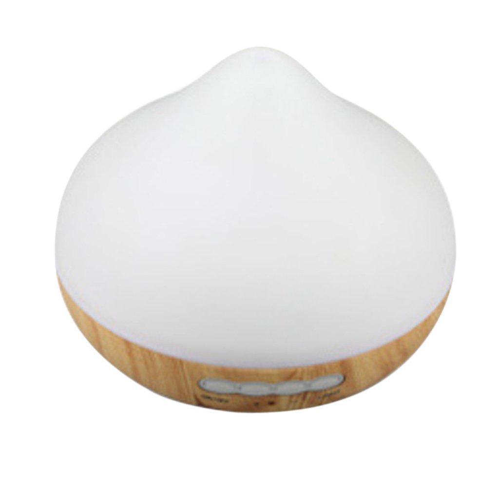 Blesiya 210ML Mini Portable USB Humidifier Air Diffuser Aroma Mist Maker Home,Spa - White Wood
