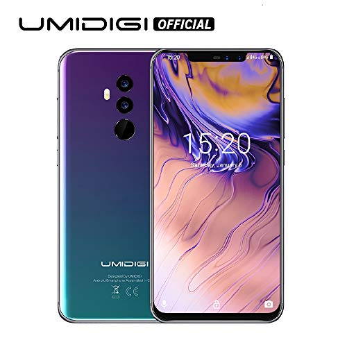 "UMIDIGI Z2 Special Edition- 4GB RAM+64GB ROM Unlocked Cell Phone - 6.2"" FullView Display(19:9 Ratio - Dual Sim 4G Volte Unlocked Smartphone -16MP+8MP Dual Camera - 3850mAh Battery(Gradient)"