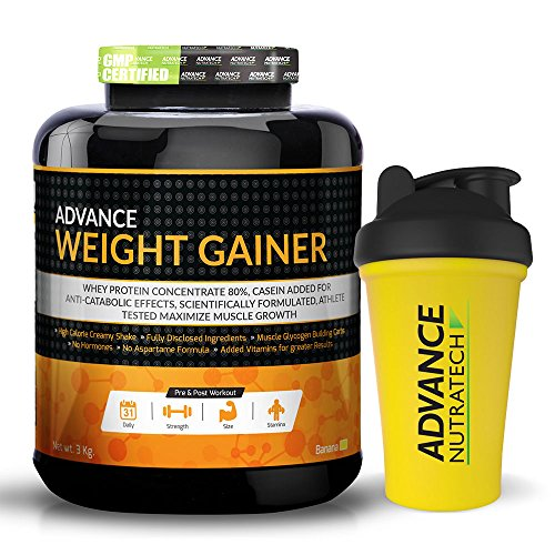 Weight Gainer 6Lbs Banana Flavour With Shaker