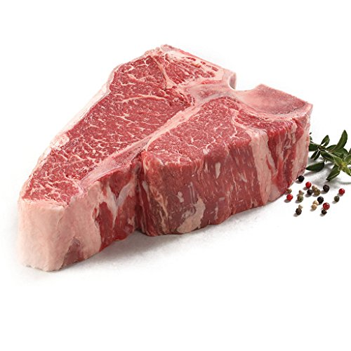 New York Prime Beef - Wall Street Collection - 6 32 oz. Porterhouse Steaks - 2 20 oz. T-Bone Steaks - 2 16 oz. Boneless NY Strip Center Cut - THE BEST STEAK ON THE PLANET via Fed Ex overnight by New York Prime Beef