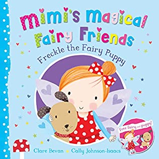 book cover of Freckle the Fairy Puppy