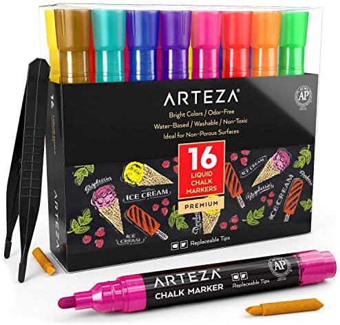 ARTEZA Markers Replaceable Tweezers Stencils