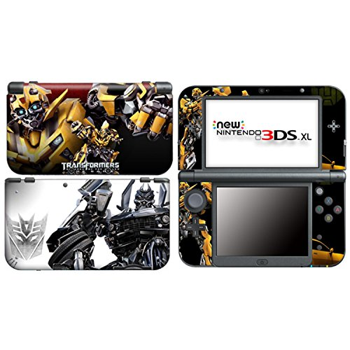 TRANSFORMERS BUMBLEBEE for New Nintendo 3DS XL Skin Vinyl Decal Stickers