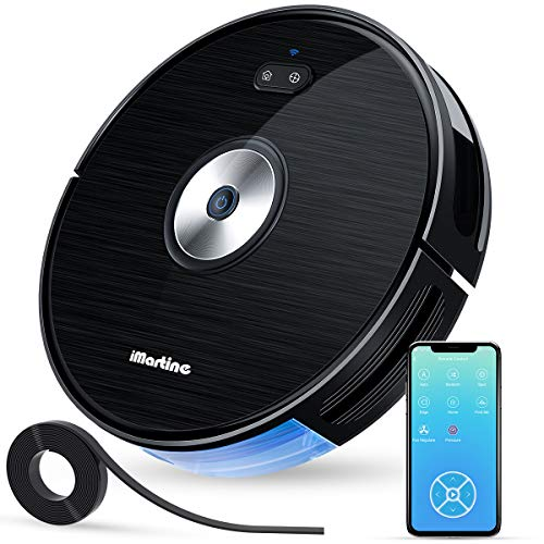 Robot Vacuum Cleaner, Wi-Fi Connected, Works with Alexa, Smart Navigating Robotic Vacuum,...