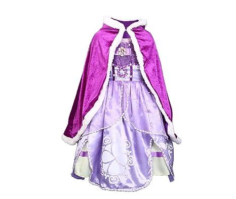 a4d2a8c8da3b1 プリンセスなりきり 子供ドレス2点セット ハロウィン ケープ付き お姫様コスチューム お嬢様 女の子 なりきり Touyoor