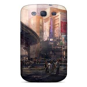 XPTSQhm3993Ukzse JGOke Zombie City Durable Galaxy S3 Tpu Flexible Soft Case