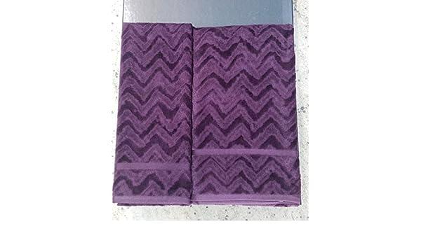 Missoni - Toalla de esponja para rostro + Toalla de esponja para invitados: Amazon.es: Hogar