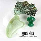 Jade Roller and Gua Sha Set for Beautiful Skin