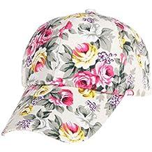 Boomboom Baseball Caps, 2018 Women Baseball Cap Adjustable Flowers Snapback for Teen Girls