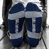 Inspirational Athletic Running Socks   Women's