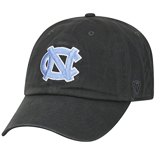Top of the World North Carolina Tar Heels Men's Hat Icon, Charcoal, - Tar Cap North Carolina Heels