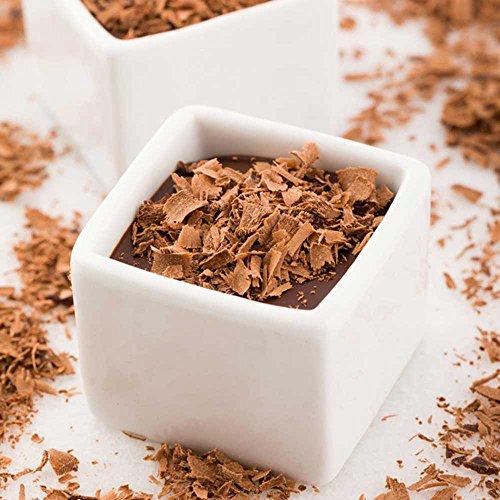 Mini Square Porcelain Dish, Mini Quadrato Dish, Square Ramekin - White - 1 oz - 10ct Box - Restaurantware by Restaurantware (Image #2)