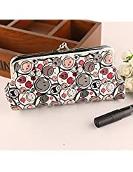 ABC® Women Fashion Lovely Style Wallet Hasp Smile Purse Clutch Bag