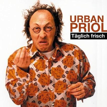 Täglich Frisch. CD   von Urban Priol   Durchschnittliche Kundenbewertung:     Versandfertig bei Amazon in 24 Stunden.    Audiobook-Rezensionen   Satire oder besser Realsatire vom Feinsten. Genial-bissig kommentiert Urban Priol, der begnadete Kabarettist, in seinem neuen Soloprogramm.