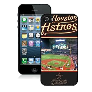 MLB Hard Case & Cover For iPhone 5s, Houston Astros Rugged iPhone 5/5s Case , Sport Fans iPhone 5 Cover,Stylish DIY Cellphone Case