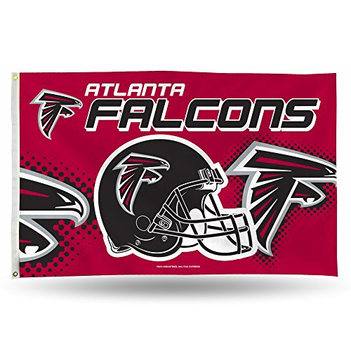 NFL Atlanta Falcons Banner Flag 3-Foot by 5-Foot