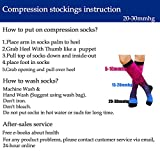 5 Pairs Graduated Compression Socks for Women&Men