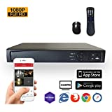 SVD, 8-Channel Professional Security System DVR, HD-TVI 1080P H.264 True-HD, 2TB Hard Drive, Playback, Motion detection, Internet & Smart phone Accessible, Smart Recording