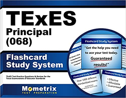 texes principal (068) flashcard study system: texes test practice ...