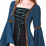 1791's lady Women's Gothic Medieval Dresses