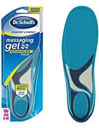 Dr. Scholl's MASSAGING GEL ADVANCED Insoles // All-Day Comfort That Allows You to Stay on Your Feet Longer (for Women's 6-10, also available for Men's 8-14)