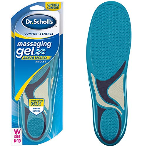 Dr. Scholl's MASSAGING GEL Advanced Insoles (Women's 6-10) // All-Day Comfort That Allows You to Stay on Your Feet Longer (Packaging May Vary) (Best Shoe Insoles For Standing)