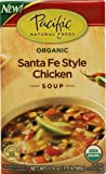 Pacific Natural Foods Organic Soup Santa Fe Style Chicken -- 17.6 fl oz - 2 pc
