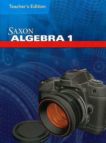 Saxon Algebra Teacher Edition