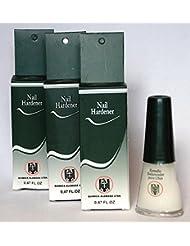 3 Bottles Quimica Alemana Nail Hardener Strengthener...