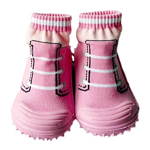 (iEndyCn Baby Socks Soft Bottom Non-Slip Floor Rubber Soles Kids Socks (about 13 cm) )