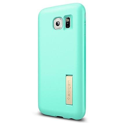 Amazon.com: Galaxy S6 Funda, Spigen [Cápsula Solid], Empaque ...