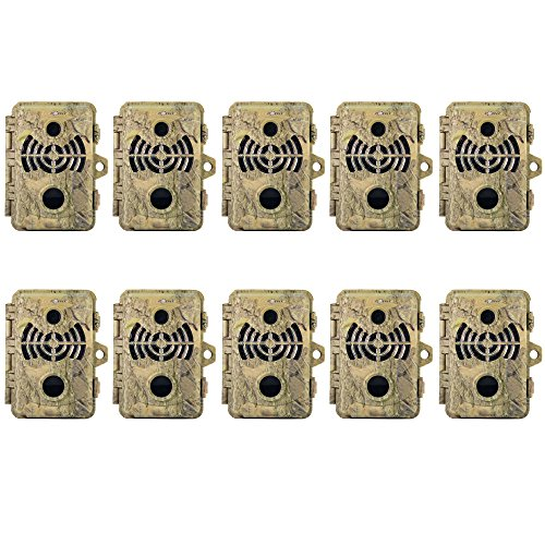 (10) Spypoint BF-10HD Infrared Digital Trail Game Camera (10MP)