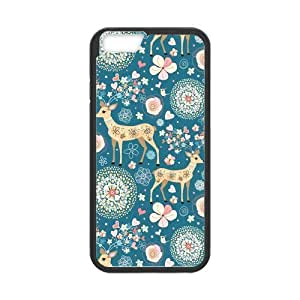 iPhone 6 Protective Case - Cute Deer Hardshell Cell Phone Cover Case for New iPhone 6