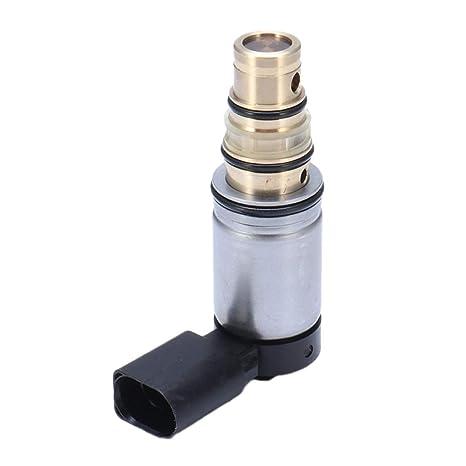 Homyl Automóvil Válvula Solenoide Control Compresor de Aire Acondicionado