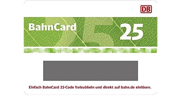 Deutsche Bahn | Tren Card 25 tarjeta de regalo ...
